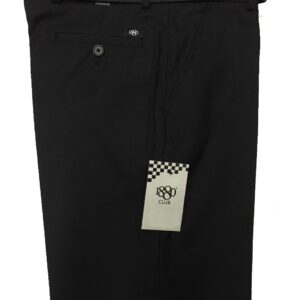 Black 1880 Club Mens Skinny Fit Trousers