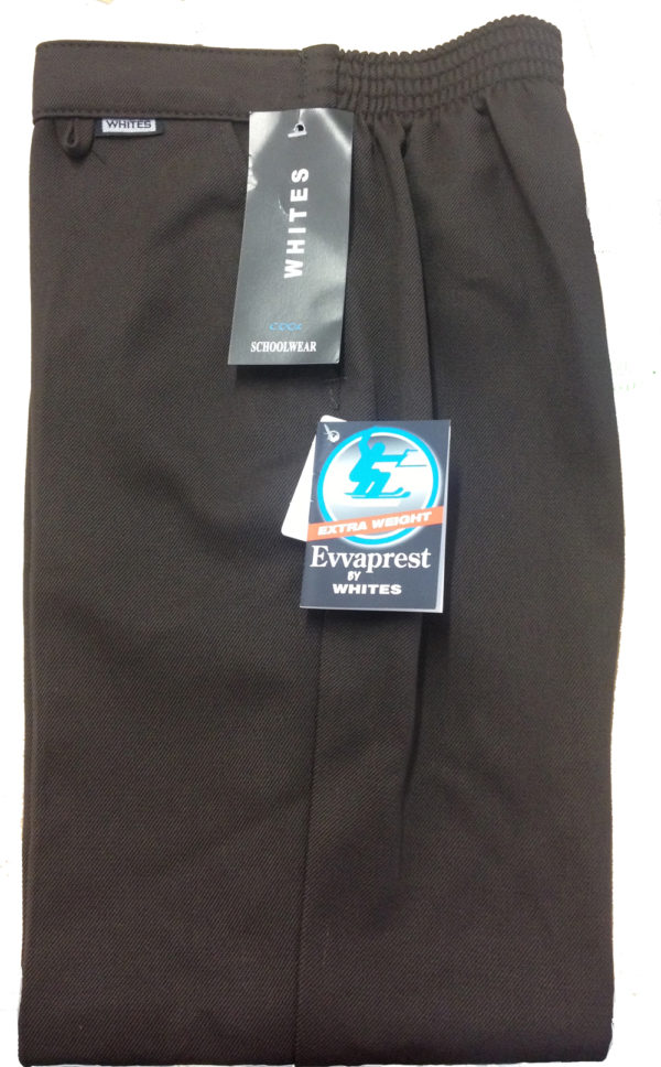Brown School Trousers by Whites